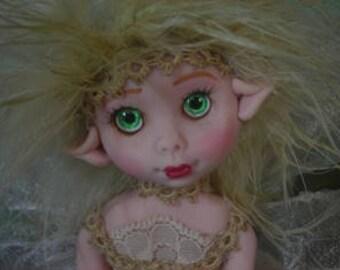 Fairy Fairies Fae pixie elf OOAK Fantasy Art Doll By Lori Schroeder B2