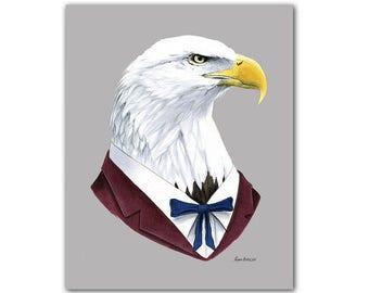 Bald Eagle print 5x7