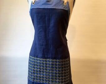 Fanny- full linen apron