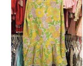1960s Girls Dress A Family Affair Anissa Jones Girls 6/8 Cinderella Brand