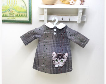 LADYBIRD HOUSE Blythe Outfit Cat Dress - E