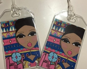 Luggage Tags - Just Go