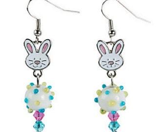 Easter Bunny Earrings