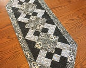 Black/Grey Table Runner