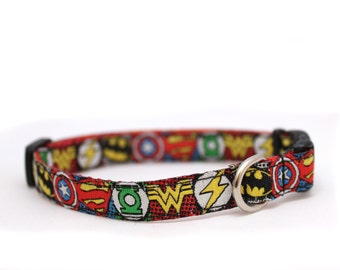 "3/8"" Sheldon Cooper buckle dog or cat collar"