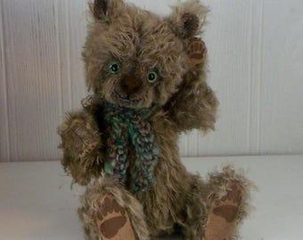 "OOAK artist bear ""Malone"" - JRB Creations"