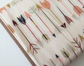 Wild and Free Fabric, Arrow Baby Quilt Fabric, Tribal Baby Quilt fabric, Aztec Baby Quilt Fabric, Fletching Chant, You Choose the Cut