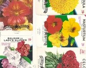 27 different Old Vintage - Vegetable & Flower - SEED PACKETS  Lone Star Seed Co. San Antonio , Texas.
