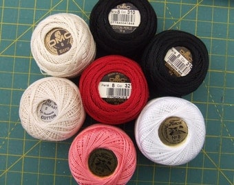 Perle Cotton Threads