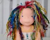 Waldorf Inspired Cloth Art Doll Charli and Tinker