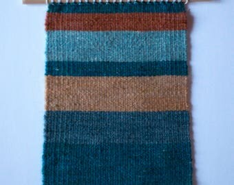 Hand woven tapestry. Wall hanging, tapestry, home decor