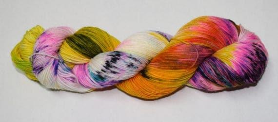 Daydreamer Hand Dyed Sock Yarn