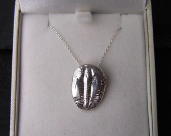 Solid Silver Trilobite Necklace