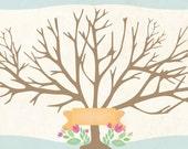 Family Tree 6x12 Reserved for Jillian