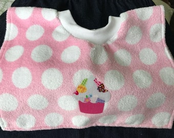 BABY BIB - Pull-Over - Terry Cloth - hard to find- free shipping