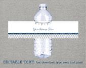 Cute Chevron Water Bottle...