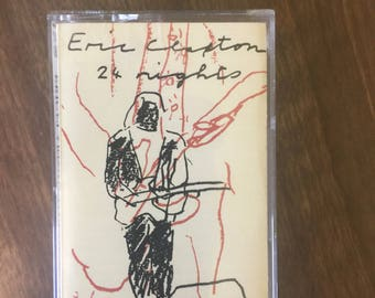 Eric Clapton 24 nights Cassette Tape