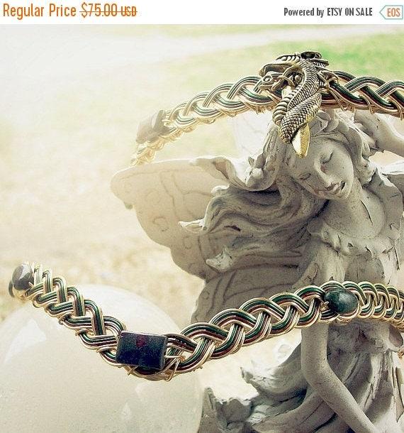 ON SALE Dragon's Blood Golden Circlet