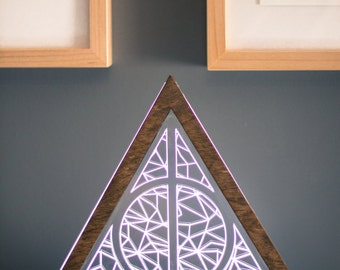Harry Potter Deathly Hallows Table Lamp