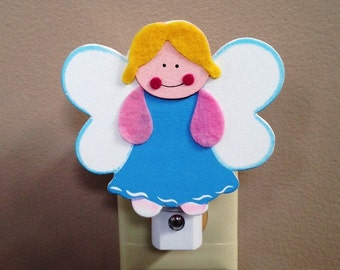 ANGEL Night Light, Angels, Guardian Angel Night Light, Baby's Angel