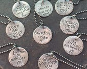 barefoot sparrow charm necklaces