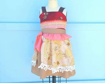 Moana costume, Moana dress, Moana birthday, Moana birthday party, Moana outfit, princess Moana, princess dress