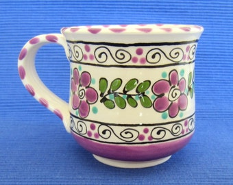 Purple Ceramic Mug