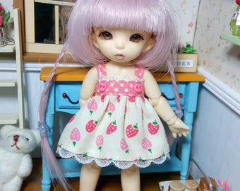 Strberries Dress for Pukipuki