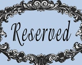 Reserved Listing for Victoria- 19 Decals