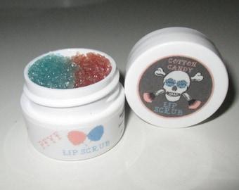 Cotton Candy Lip Balm/Scrub Duo