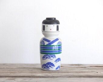 Japanese Sake Bottle & Cup