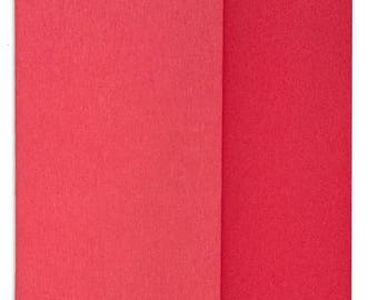 New Color!  Gloria Doublette Double Sided Crepe Paper For Flower Making Germany Watermelon And Coral  #3310