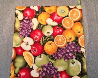 MIXED FRUIT Microwave Potato Bag, Potato Bag for microwave cooking, kitchen, housewarming, birthday, holiday, gifts