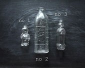 Decorative Glass Bottles, Vintage Glass Bottles, Collectible Glass, Collectibles, Glass Bottles, Figural Glass Bottles, Vintage Home Decor