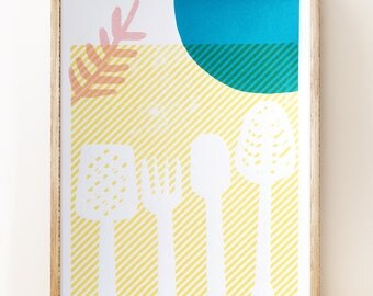 Utensils - Limited Edition Screen Print