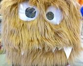 Festus the Large NomNom Monster Messenger Bag Laptop Bag Crossbody Purse Tote