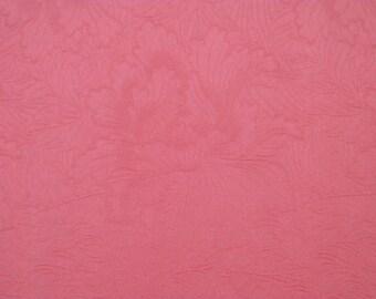 Vintage kimono S355,  kimono, silk, rinzu, pink