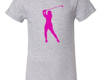 Kid's golf t-shirt - MORE COLORS AVAILABLE