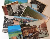 Unused Postcards Mystery Lot Vintage Travel and Scenery International Worldwide
