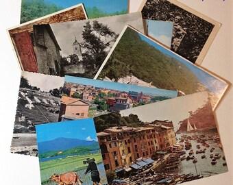 Unused Postcards Mystery Lot Vintage Travel and Scenery International Worldwide