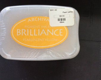 Brilliance Pigment Ink Pearlescent Yellow