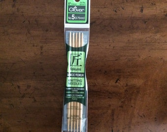 5 inch Double Pointed Knitting Needles Size 5