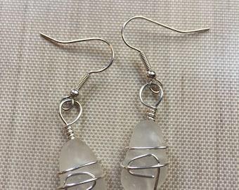 Beachglass Earrings #108