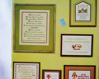 Cross Stitch Pattern - WHISPERS by Peggy Wellman - Counted Cross Stitch Sayings