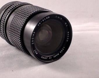 Cosina 28-85mm f/4 MC Macro FD Mount zoom lens