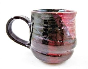 Handmade pottery mug, Ceramic mug, large coffee mug 22 oz - In stock