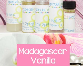 Madagascar Vanilla Perfume, Perfume Spray, Body Spray, Perfume Roll On, Perfume Oil, Dry Oil Spray, You Pick the Product