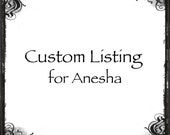 """Custom listing for Anesha, sterling silver and gold spinner ring, 3/8"""" wide band, hand stamped, floral branch, oxidized, simple, comfort fit"""