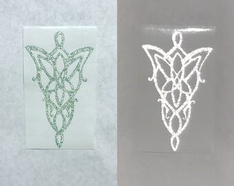 Arwen's Evenstar from Lord of the Rings decal