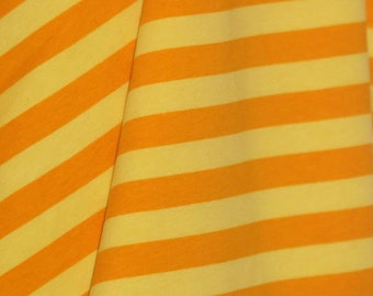 "Knit CL yellow/yellow stripes 1/2"" 1 yard"